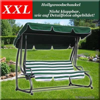 xxl hollywoodschaukel gartenschaukel schaukel garten shop. Black Bedroom Furniture Sets. Home Design Ideas