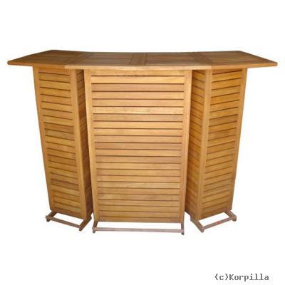 holz bartresen garten bar theke tresen hausbar garten shop. Black Bedroom Furniture Sets. Home Design Ideas